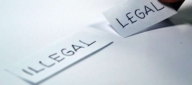 illegal and legal paper